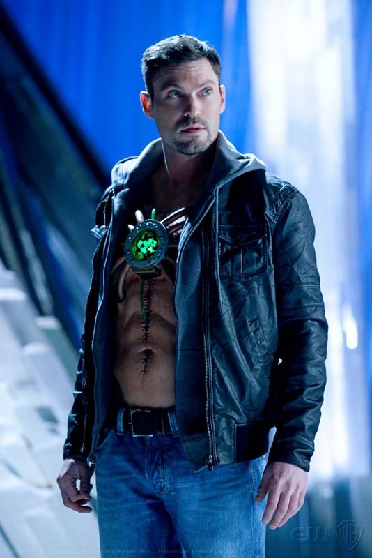 Il ritorno di Metallo (Brian Austin Green) nell'episodio Upgrade di Smallville
