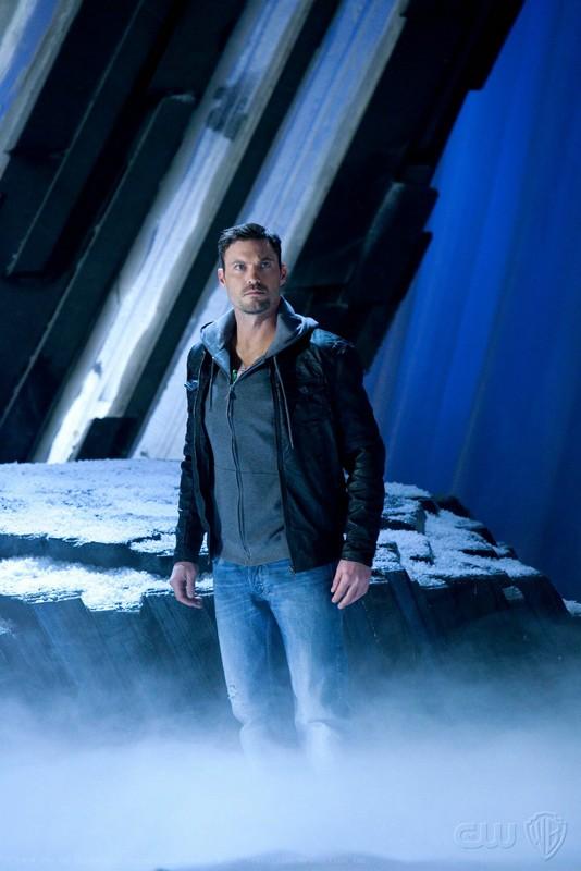 John Corben/Metallo (Brian Austin Green) alla Fortezza nell'episodio Upgrade di Smallville