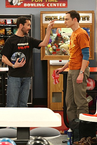 Jim Parsons e Wil Wheaton nell'episodio The Wheaton Recurrence di The Big Bang Theory