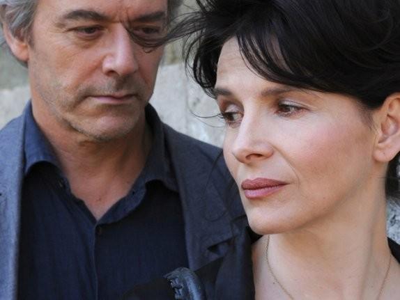 Juliette Binoche e William Shimell, protagonisti di Copia conforme