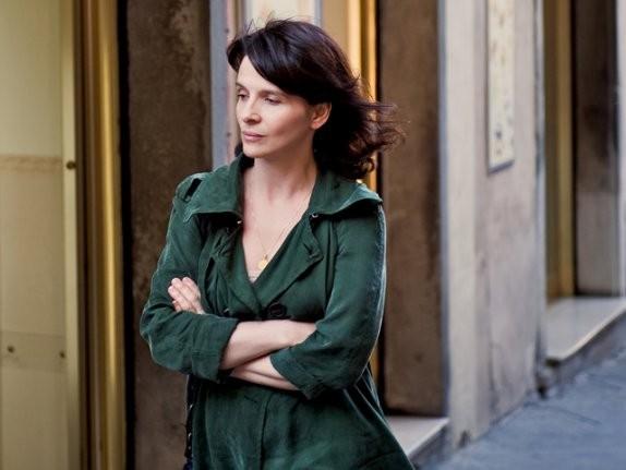 Juliette Binoche in un'immagine del film Copia conforme
