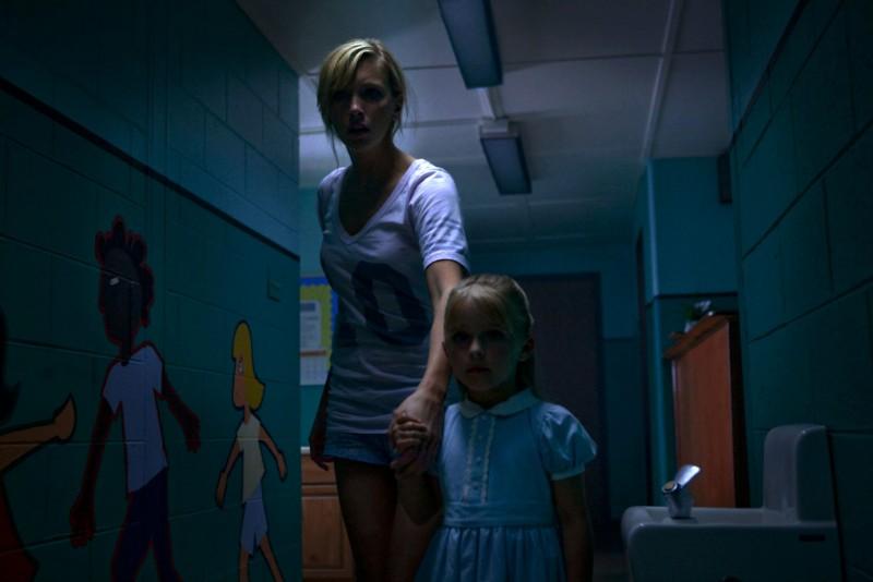 Katie Cassidy in una scena ad alta tensione nel film Nightmare