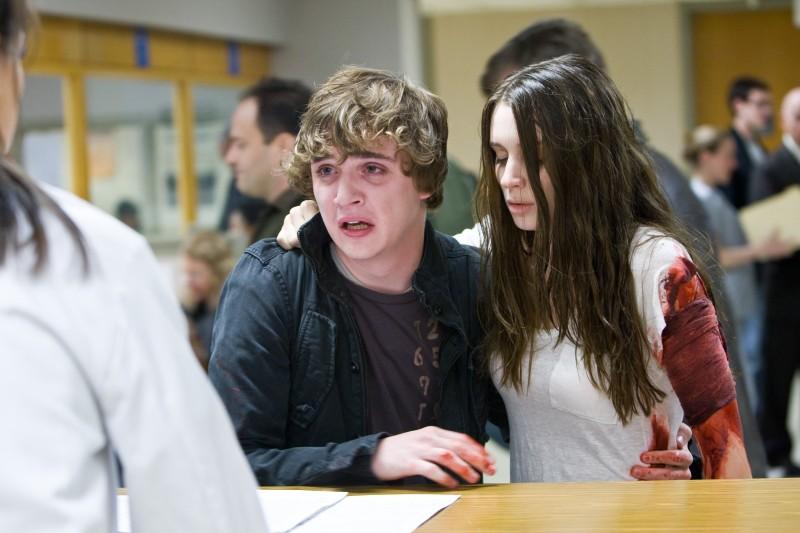Kyle Gallner e Rooney Mara, spaventati protagonisti dell'horror Nightmare