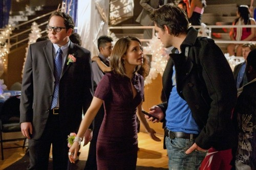 Life UneXpected: Austin Basis, Shiri Appleby e Kristoffer Polaha nell'episodio Formal Reformed