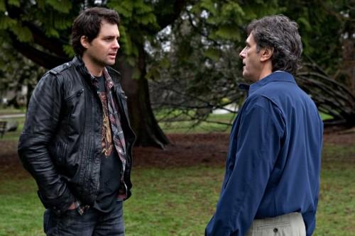 Life UneXpected: Kristoffer Polaha e Robin Thomas in una scena dell'episodio Love Unexpected