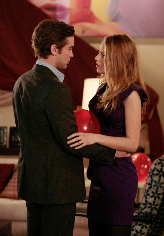 Nate (Chace Crawford) e Serena (Blake Lively) nell'episodio The Unblairable Lightness of Being di Gossip Girl