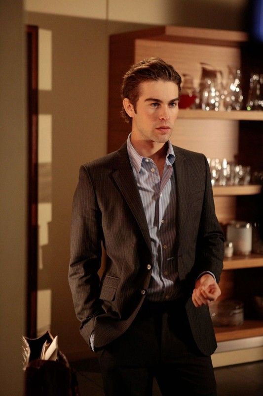 Nate (Chace Crawford) in una sequenza dell'episodio The Unblairable Lightness of Being di Gossip Girl