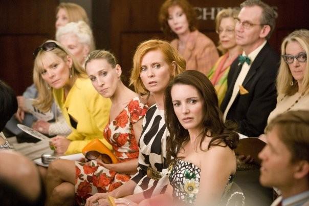 Samantha (Kim Cattrall), Carrie (Sarah Jessica Parker), Miranda (Cynthia Nixon) e Charlotte (Kristin Davis), protagoniste di Sex and the City