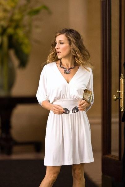 Sarah Jessica Parker è Carrie Bradshaw, giornalista a New York per la commedia Sex and the City 2