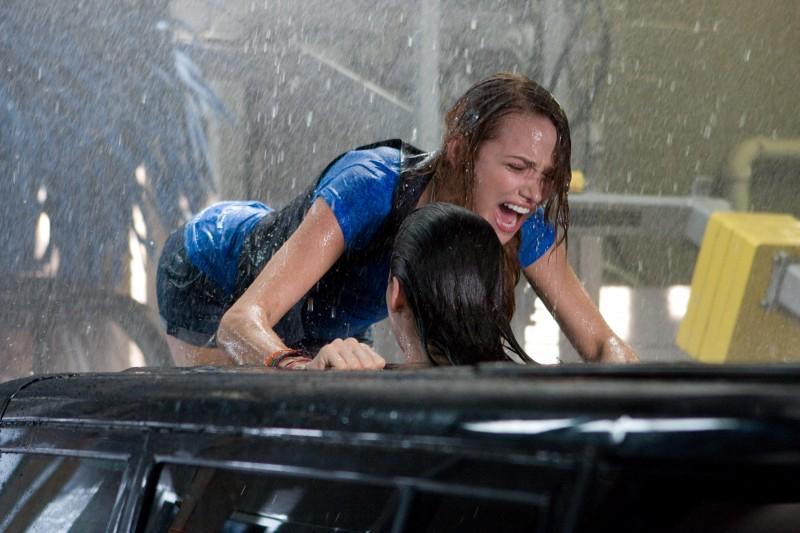 Shantel Vansanten in un'immagine drammatica dell'horror The Final Destination 3D