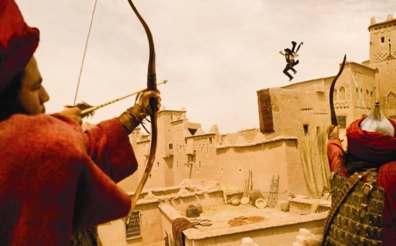Un'immagine dal film Prince of Persia: Le sabbie del tempo con protagonista Jake Gyllehaal