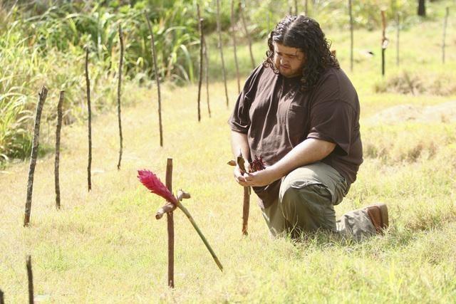 Jorge Garcia in un momento dell'episodio Everybody Loves Hugo di Lost