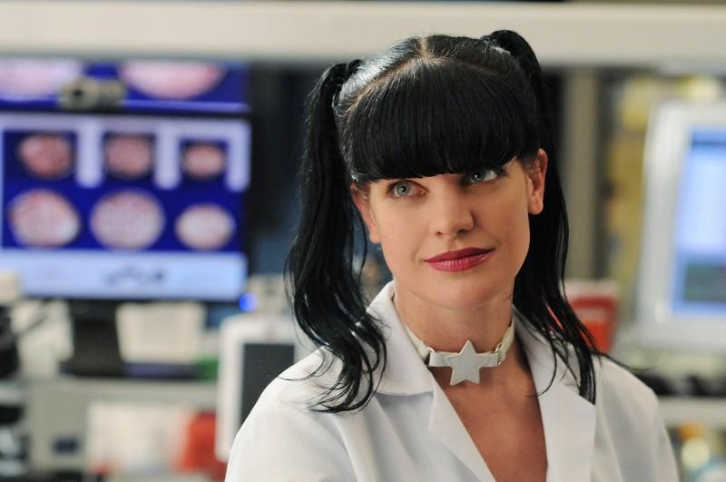 La simpaticissima Abby (Pauley Perrette) nell'episodio Jurisdiction di Navy NCIS