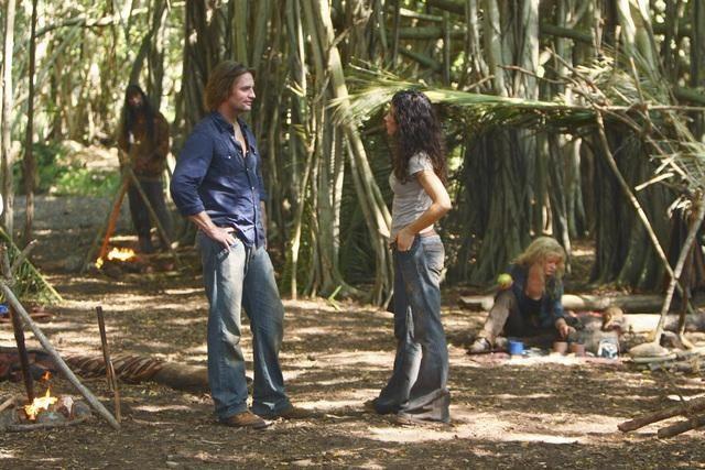 Lost: Josh Holloway ed Evangeline Lilly nell'episodio Everybody Loves Hugo