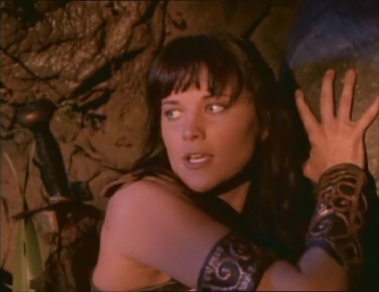 Lucy Lawless nell\'episodio Xena e il tesoro dei Sumeri di Xena