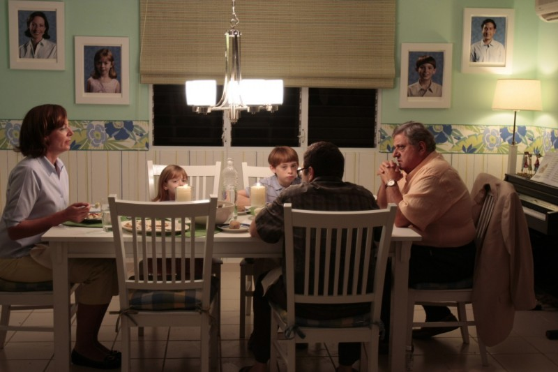 Allison Janney, Emma Hinz, Dylan Riley Snyder e Michael Lerner in un'immagine del film Life During Wartime di Todd Solondz