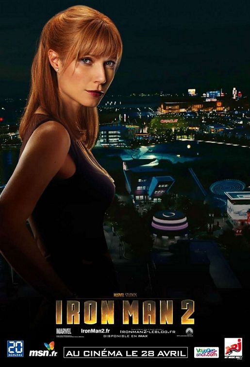 Character Poster francese di Iron Man 2, Gwyneth Paltrow
