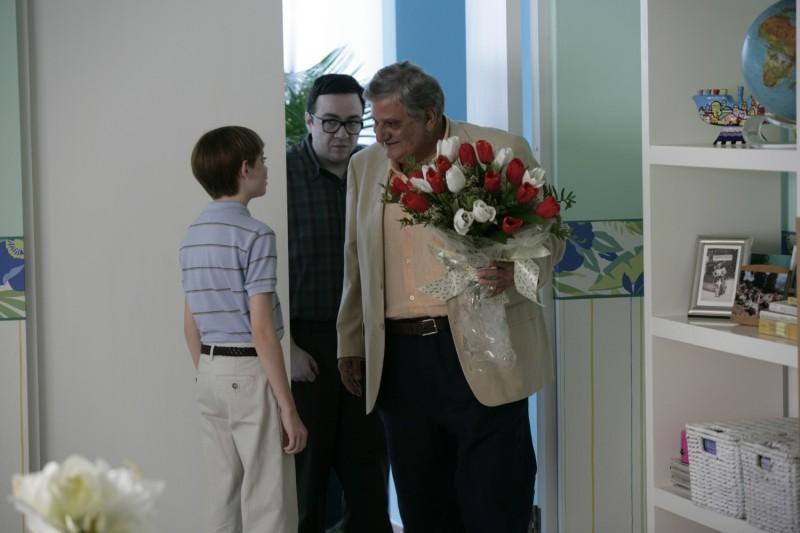 Dylan Riley Snyder, Rich Pecci e Michael Lerner in un'immagine del film Life During Wartime di Todd Solondz