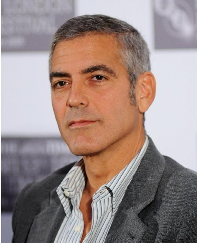 George Clooney alla conferenza stampa del film Fantastic Mr. Fox al The Times BFI 53 London Film Festival