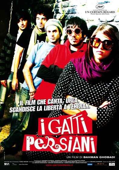 La locandina italiana del film I gatti persiani
