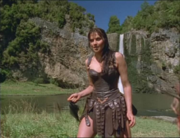 Lucy Lawless nell\'episodio Xena e il sacrificio di Ilio di Xena