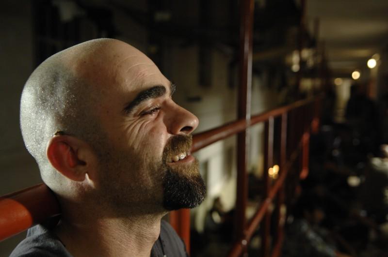 Malamadre (Luis Tosar), violento e duro protagonista del film Cella 211