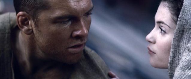 Perseo (Sam Worthington) e Io (Gemma Arterton) in un'immagine del film Clash of the Titans 3D