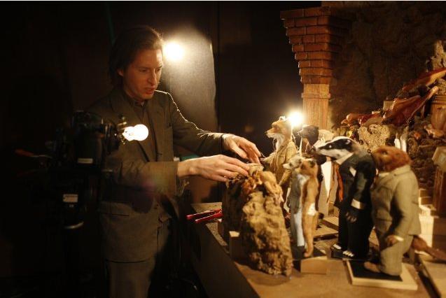 Wes Anderson, regista dello strabiliante Fantastic Mr. Fox