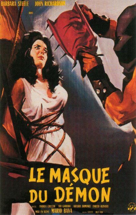 Locandina francese del film La maschera del demonio (1960)