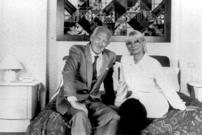 Sandra Mondaini con Raimondo Vianello