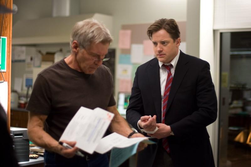 Harrison Ford e Brendan Fraser in un'immagine del film Extraordinary Measures