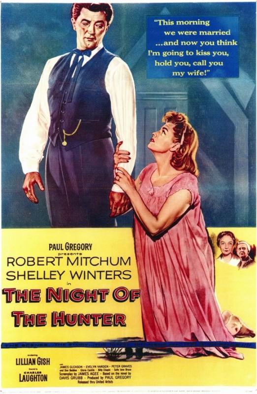 Locandina del film La morte corre sul fiume ( 1955 )