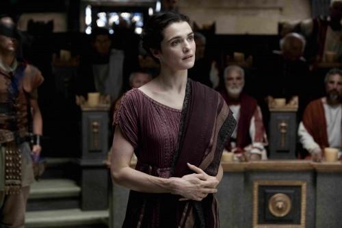 Rachel Weisz nel ruolo di Ipazia nel film Agora