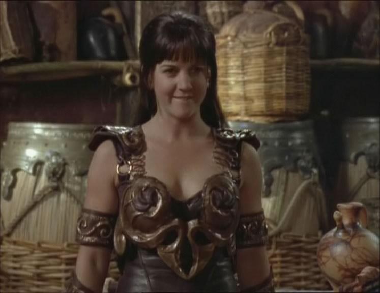 Renee O\'Connor nell\'episodio Xena e la freccia avvelenata di Xena