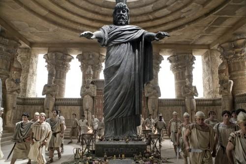 Un'immagine dell'antica agora dal film Agora