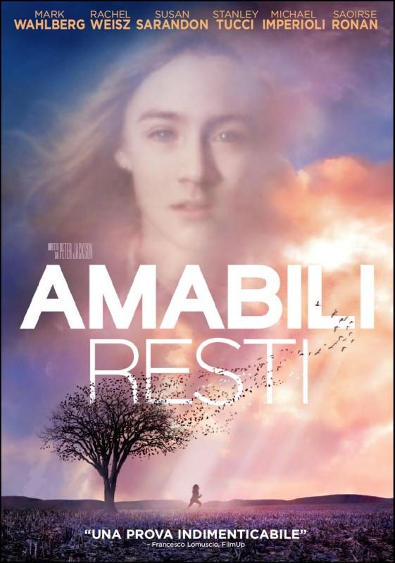 La copertina di Amabili resti (dvd)