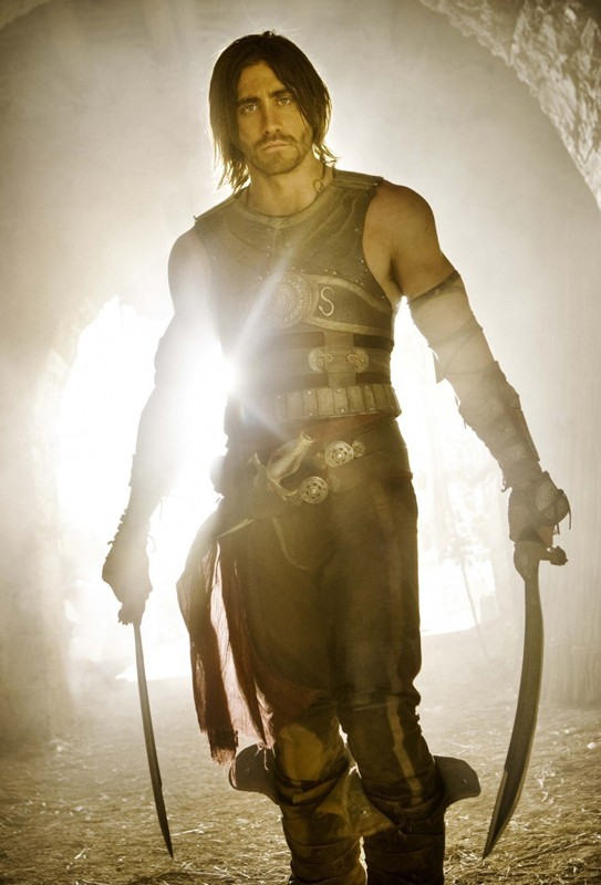 Un'immagine promozionale di Jake Gyllenhaal per il film Prince of Persia: Sands of Time