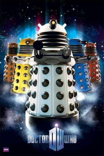 Doctor Who: un poster per la stagione 5 della serie
