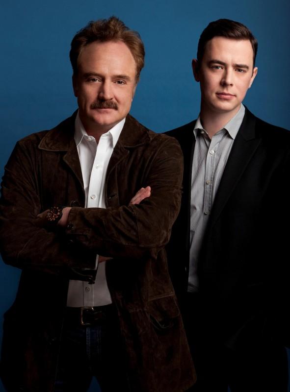 Colin Hanks e Bradley Whitford in una foto promozionale della serie The Good Guys