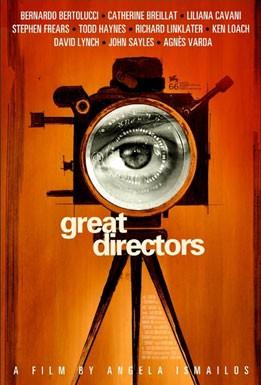 La locandina di Great Directors