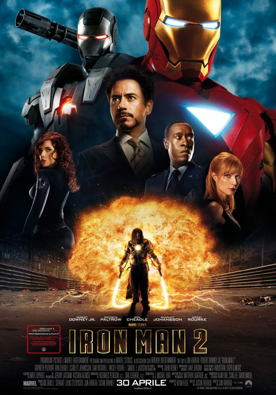 Locandina italiana di Iron Man 2