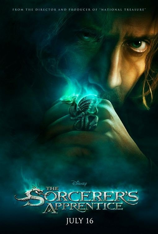 Teaser poster per The Sorcerer's Apprentice