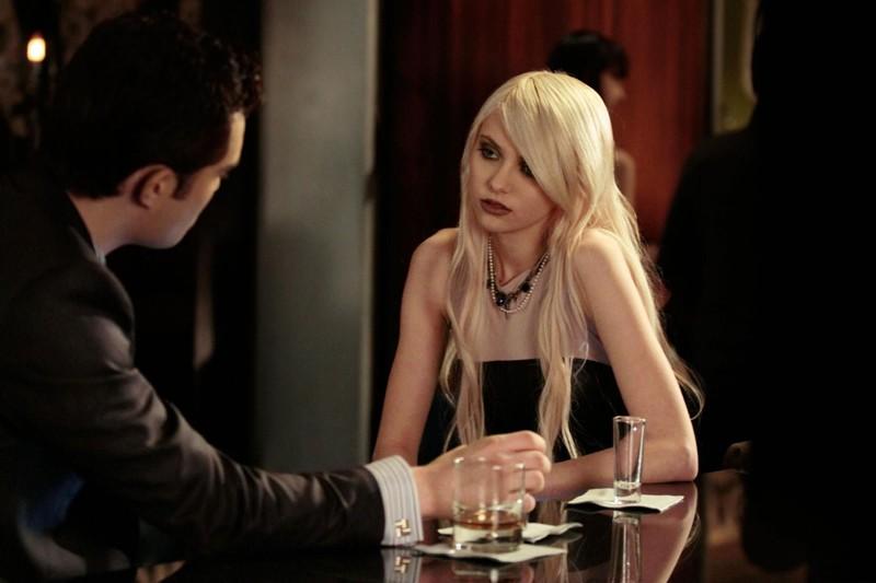 Chuck (Ed Westwick) e Jenny (Taylor Momsen) nell'episodio Dr. Strangeloved di Gossip Girl