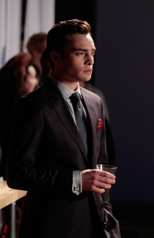 Ed Westwick nell'episodio Dr. Strangeloved di Gossip Girl