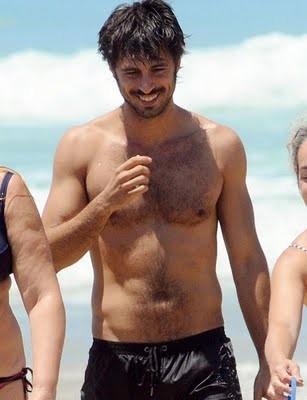 Hugo Silva al mare