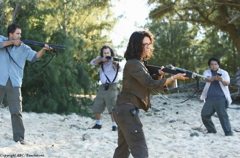 Lost: Una scena dell'episodio The Last Recruit dalla stagione finale
