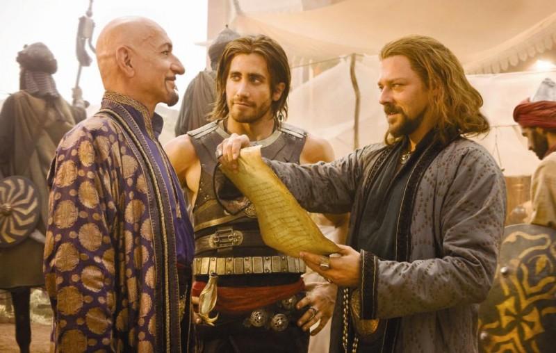 Ben Kingsley, Jake Gyllenhaal e Richard Coyle nel film Prince of Persia: Sands of Time