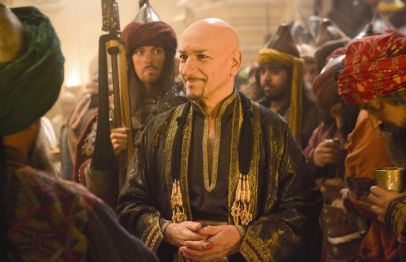 Ben Kingsley nei panni del potente Nizam in Prince of Persia: Sands of Time