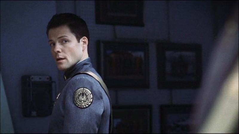 Jamie Bamber in Battlestar Galactica