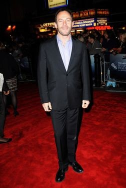 Jason Isaacs alla premiere di Londra del film The Road